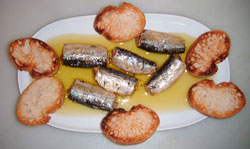 La sardina: beneficios para la salud